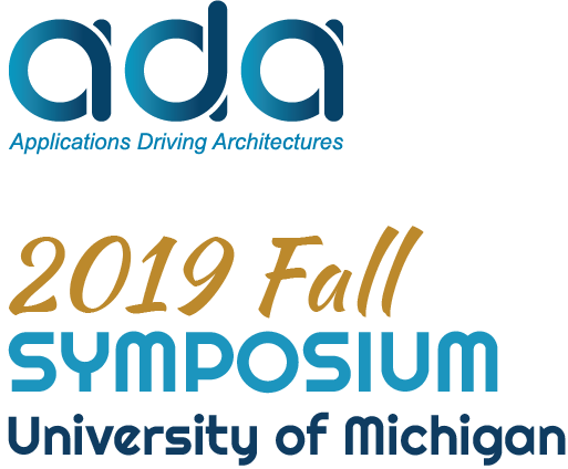 ADA 2019 Fall Symposium University of Michigan